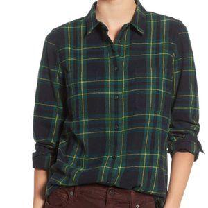 Madewell Ex Boyfriend Oversized shirt plaid L